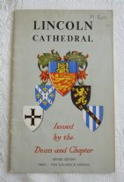"zz A. M. Cook and Peter Binnall, ""Lincoln Cathedral"" (fourth edition, 1967) - vintage booklet (SOLD)"
